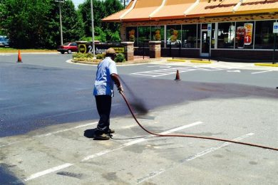 Concord, NC Asphalt Sealcoating