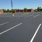 Asphalt Line Striping / Parking Lot Project