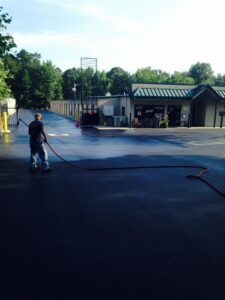Charlotte & Concord North Carolina Asphalt Sealcoating