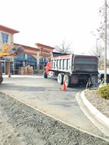 Asphalt Repair Project Concord, NC